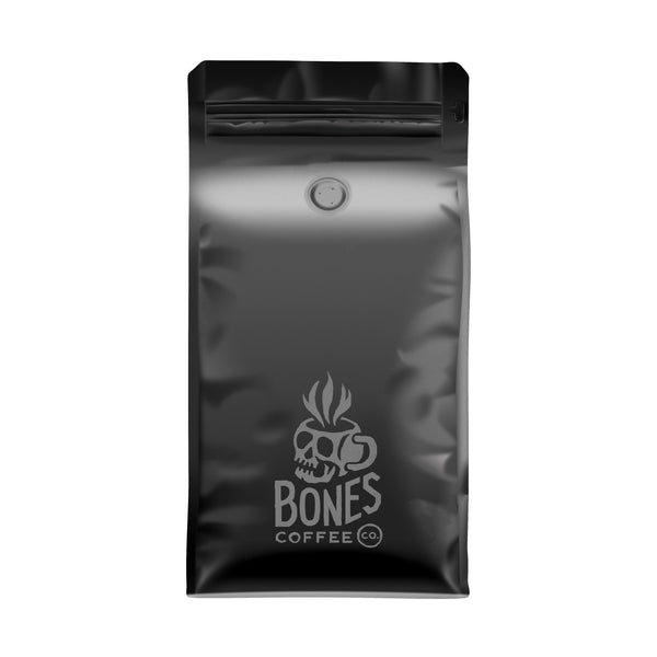 High Voltage - High Caffeine Coffee by Bones Coffee Company | 12oz