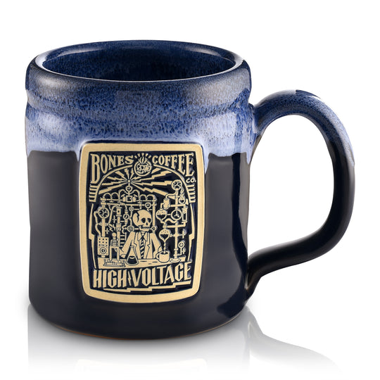High Voltage Handthrown Mug