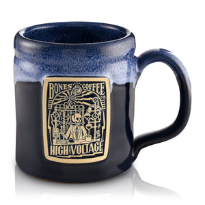High Voltage Handthrown Mug from Bones Coffee Company