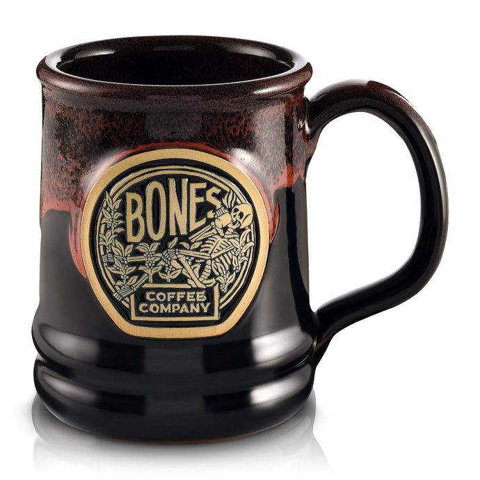 Classic Logo Handthrown Mug from Bones Coffee Company