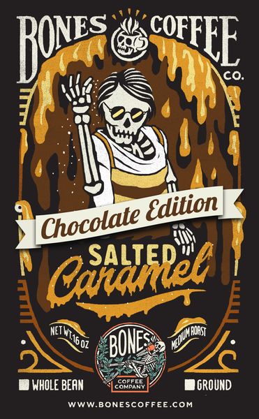 Salted Caramel Chocolate - Bones Coffee