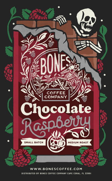 Chocolate Raspberry by Bones Coffee Company - 12oz