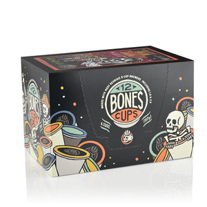 From Dusk Till Donuts Bones Cups - 12 Count