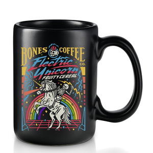Electric Unicorn Ceramic Mug