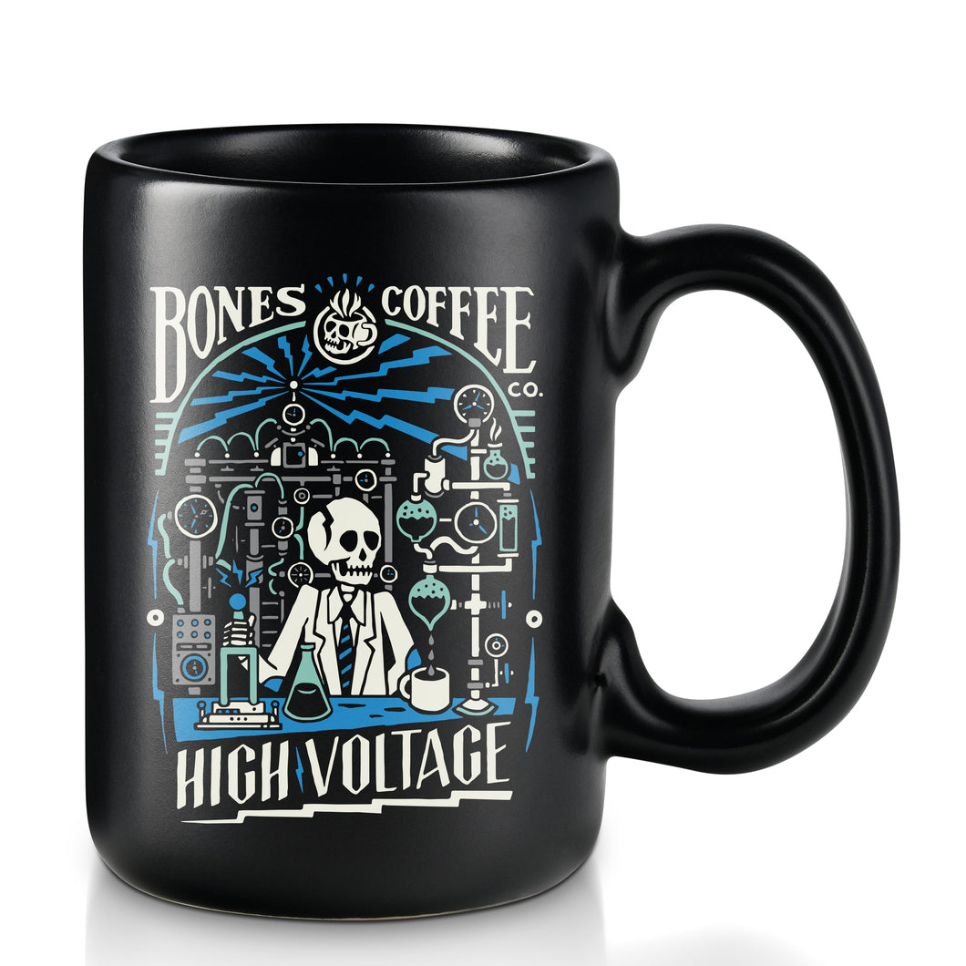 High Voltage Ceramic Mug