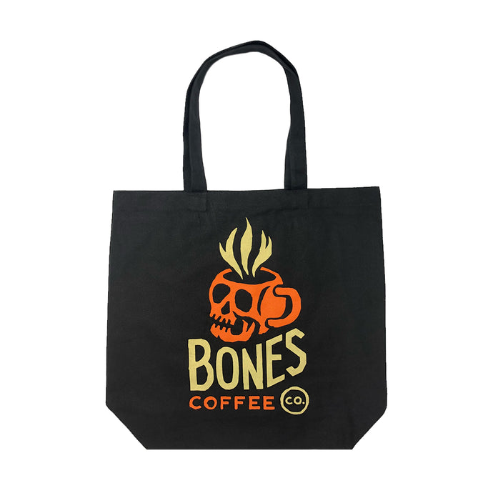 Skull Logo Canvas Tote Bag
