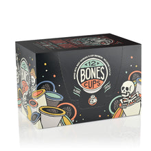 Dark Roast Bones Cups - 12 Count