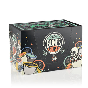 Mint Invaders Bones Cups - 12 Count