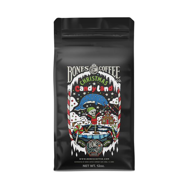 Christmas Candy Land | Christmas Coffee by Bones Coffee Company | 12oz