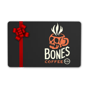 bones coffee company gift card strongest coffee