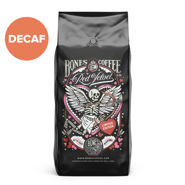 Decaf Red Velvet by Bones Coffee Company - 16oz