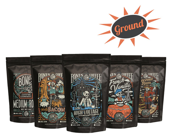 Choose Your Flavors 5 Bag Sample Pack (Ground)