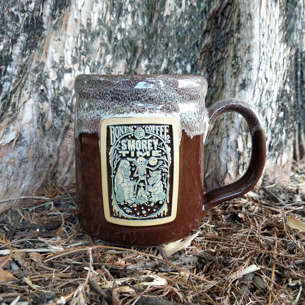 S'morey Time Handthrown Mug from Bones Coffee Company