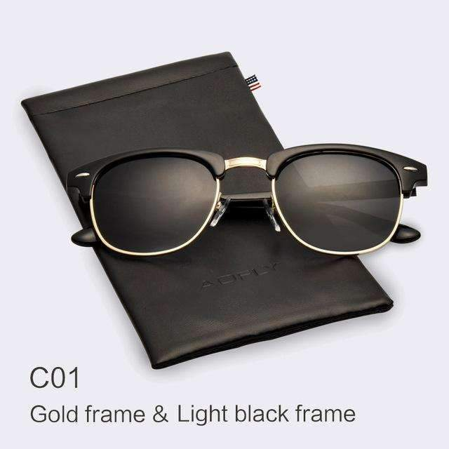 6907c638f3 ... Classic Clubmaster Sunglasses - Dapper-Wear ...