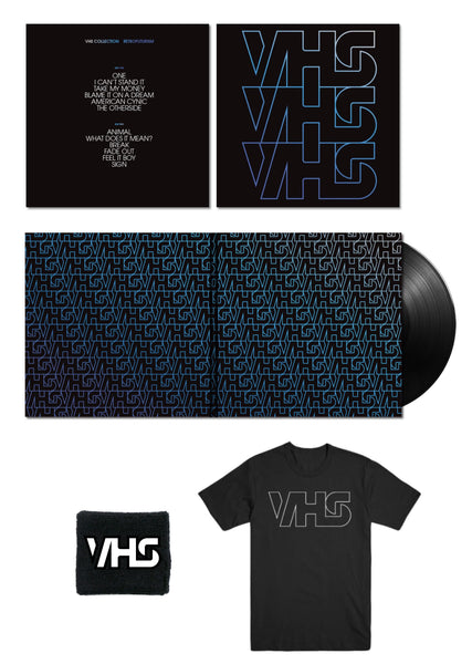 Retrofuturism Vinyl + T-Shirt + Wristband + Digital Download Bundle
