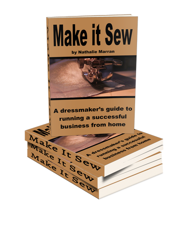 Make it sew, sewing book, book, ebook, dressmaker, seamstress