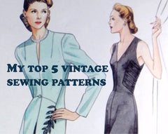 Vintage sewing pattern Vogue V2786