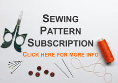 sewing pattern, subscription, sewing pattern subscription, free sewing pattern