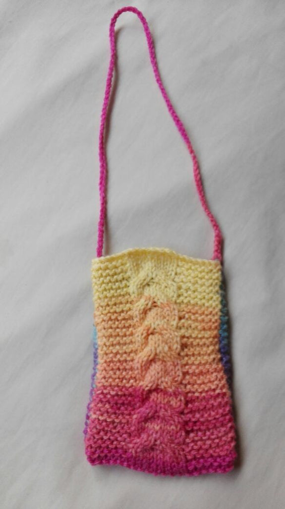 Knitted Pouch Pattern : ... knits super easy cellphone pouch knitting pattern regular price $ 0