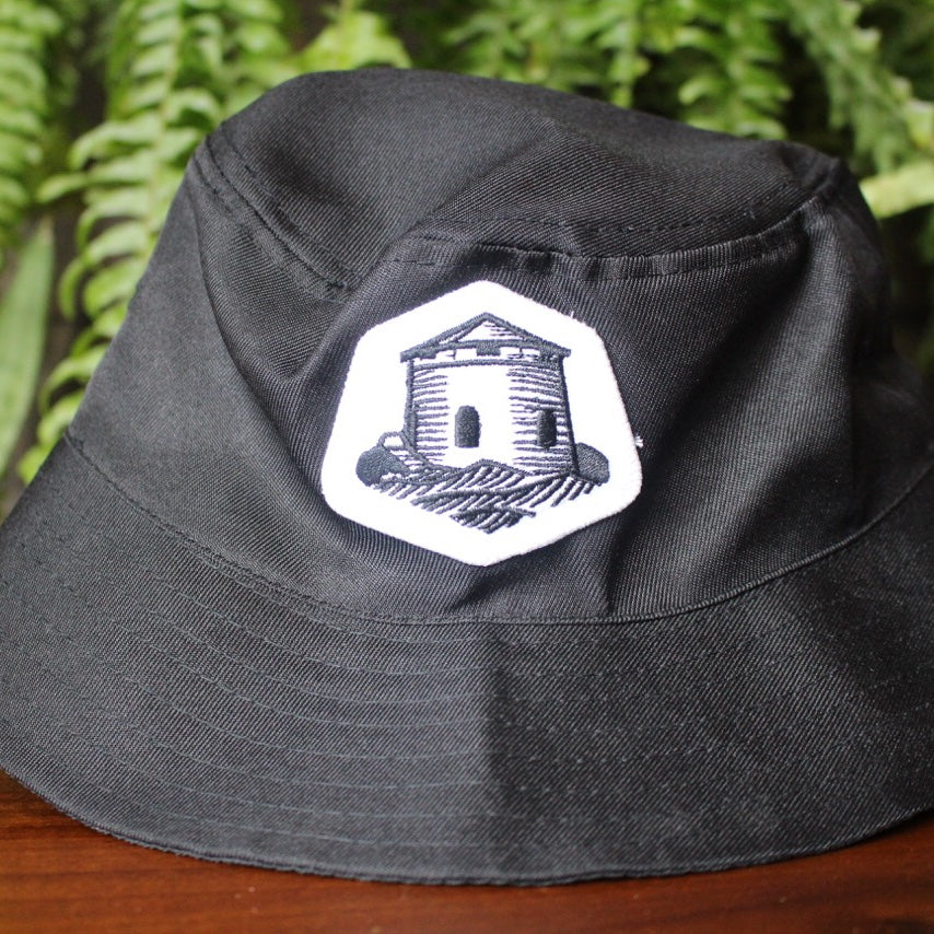 Bucket Hat with Tower Patch