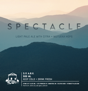 Spectacle Light Pale Ale with Citra + Motueka Hops
