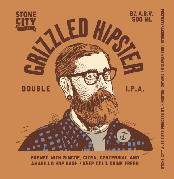 GRIZZLED HIPSTER