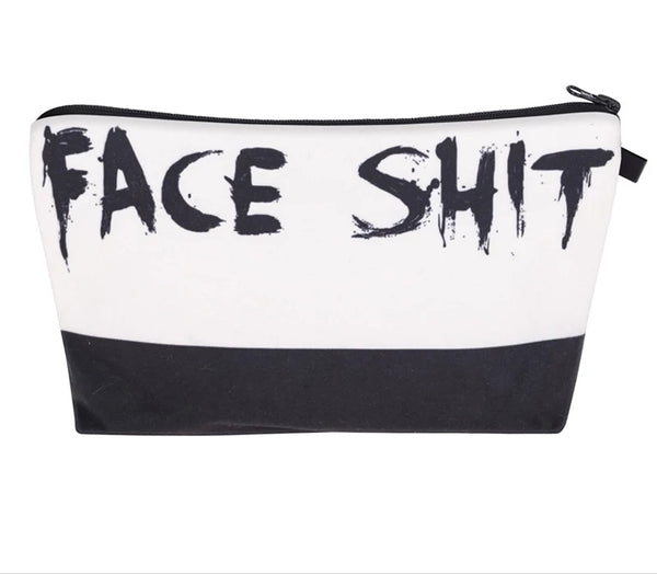 'Face Sh*t' Cosmetics Bag