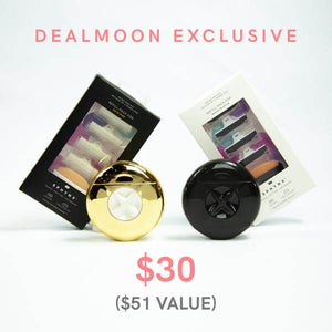 Exclusive DEALMOON Black & Gold 2x2 Razor + Refill Bundle!