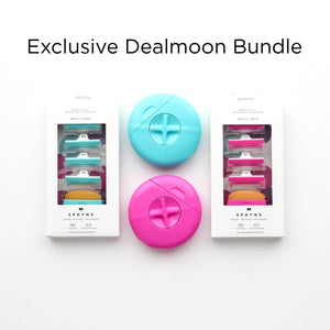 Exclusive DEALMOON Double's Day Bundle: Pink & Teal Combo Pack!