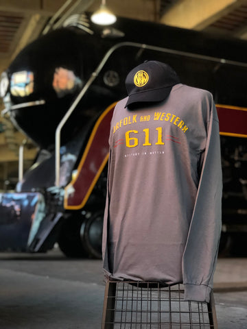 N&W 611 Gray Long Sleeve