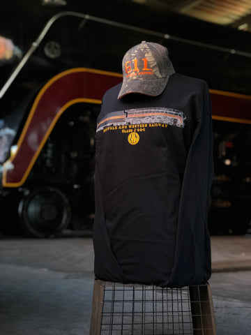 611 N&W Black Long Sleeve Shirt