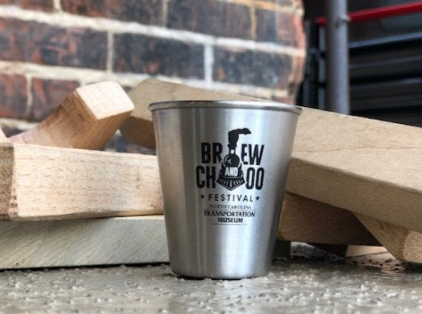Brew and Choo Stainless Steel Shot Glass