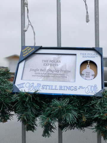 "The Polar Express™ ""The Bell Still Rings For Me"" Picture Frame"