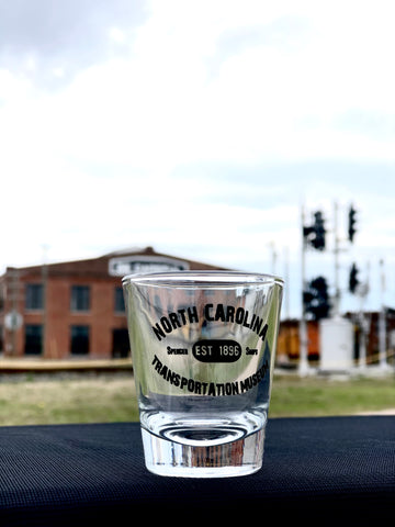 North Carolina Transportation Museum Shot Glass