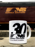 Norfolk Southern 30th Mug