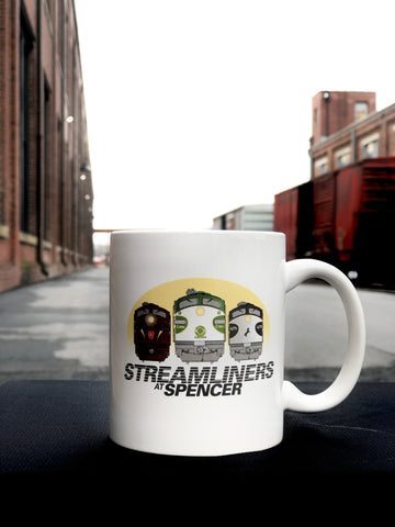 Streamliners at Spencer Mug