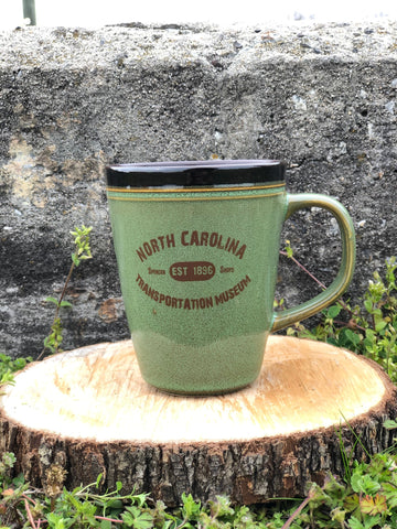 North Carolina Transportation Museum Glazed Coffee Mug