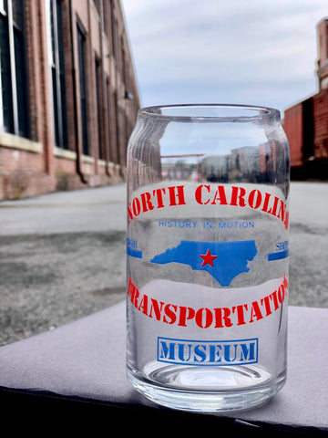 North Carolina Transportation Museum Drinking Glass