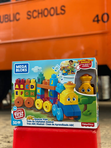 Mega blocks ABC Musical Train by Fisher Price