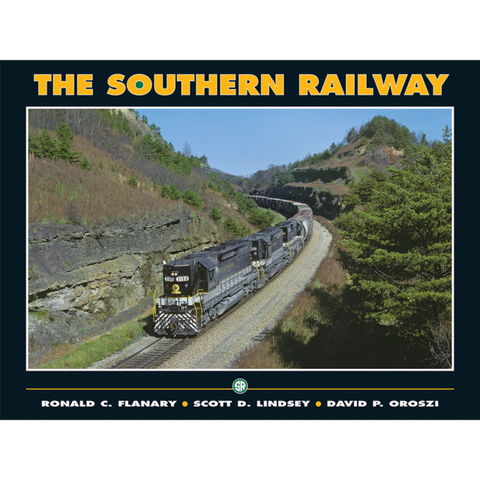 Southern Railway Whiter River Productions Hard Bound Book