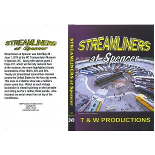 Streamliners at Spencer 2-disc DVD
