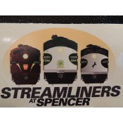 Streamliners at Spencer Decal