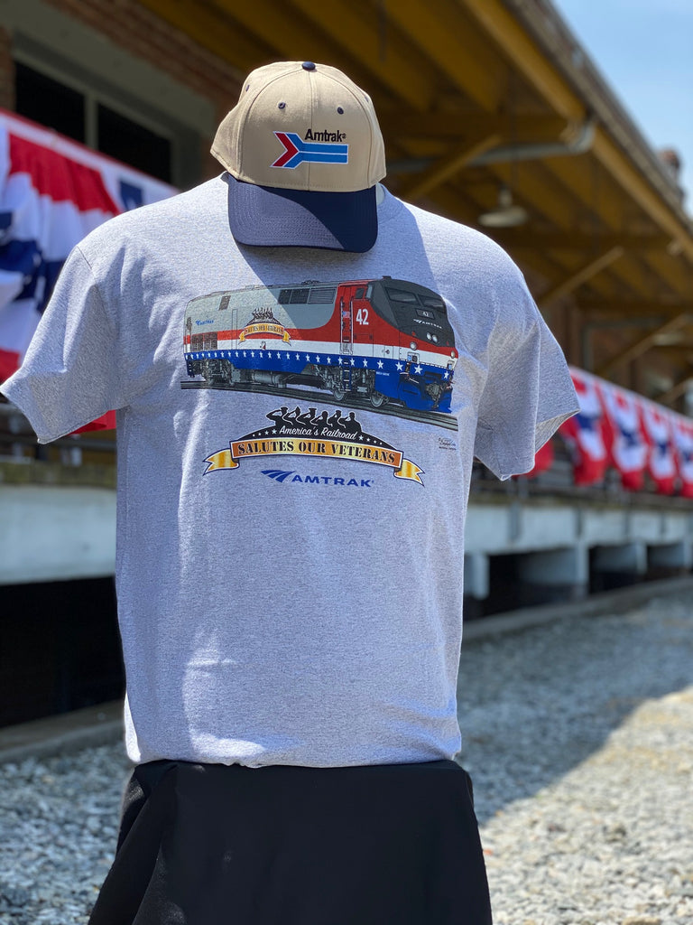 Amtrak Veterans T-shirt
