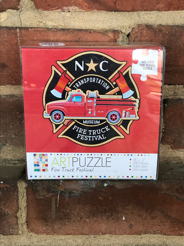 NCTM Fire Truck Festival Puzzle
