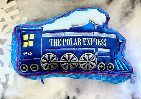 The Polar Express™ Train Pillow