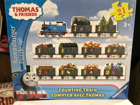 Thomas Counting Train Puzzle