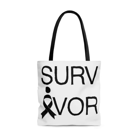 Survivor - Melanoma/Skin Cancer - Tote Bag