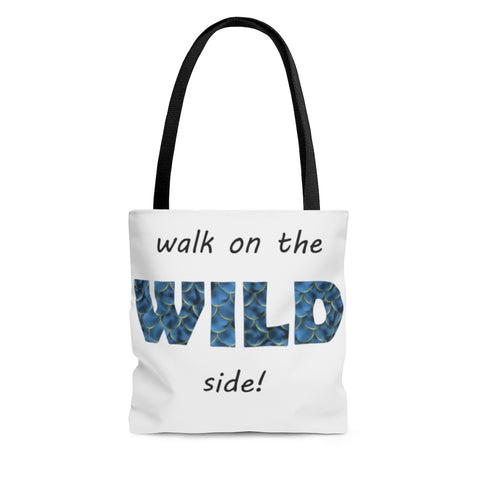 Wild Side - Fish Scales - Tote Bag