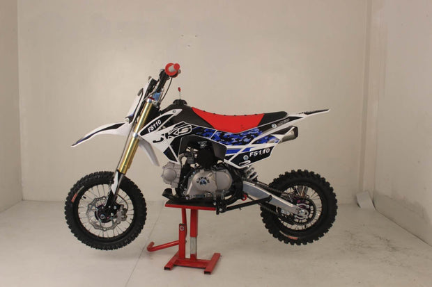 # 7 JKS FS 110 UPGRADED MODEL SEMI AUTO NO CLUTCH ONLY 1 LEFT!!!