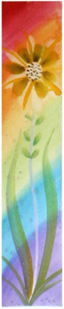 Creating Hope hand-painted bookmark